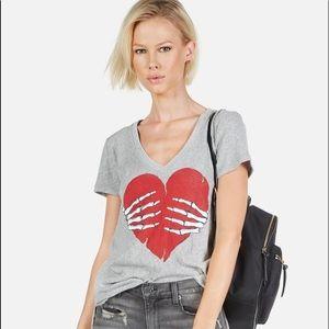 Lauren Moshe medium heart shirt from LA designer